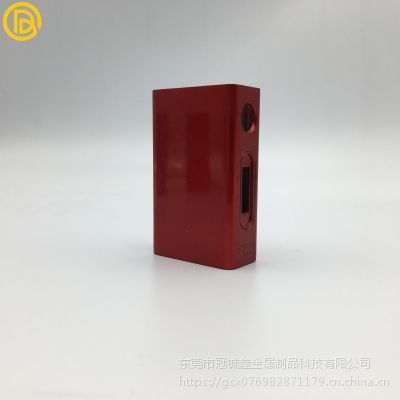 冠铖鑫供应金属电子烟外壳锌合金电子烟外壳生产厂家