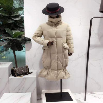 广州石井品牌服装尾货 服装批发女装尾货走份 折扣女装剪标反季 大码羽绒服