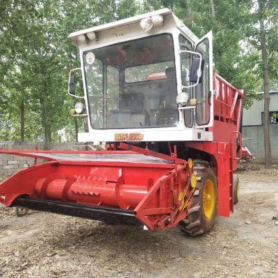 畅销大型青储机 芦苇玉米收割机 玉米秸秆青储回收机 鸿磊160