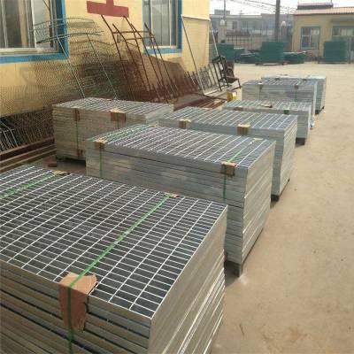 工作平台金属格栅板 发电厂镀锌钢格栅 平台楼梯格栅