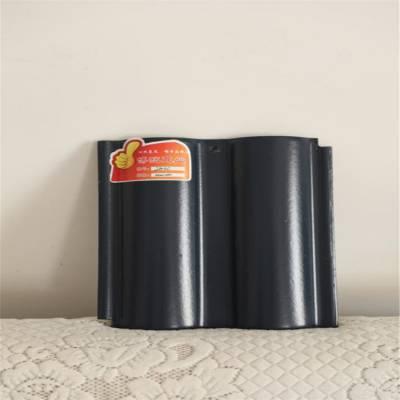 陶瓷双筒瓦/陶瓷双筒瓦/工程波形瓦