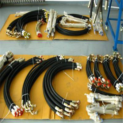 现货供应矿用液压胶管 油田煤矿机械胶管 铠装高压胶管 优选弘创牌