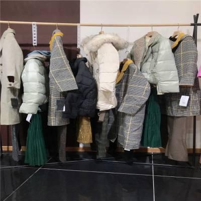 杭州高端品牌尤西子19冬装广州品牌折扣女装走份批发抖音快手淘宝直播服装直播一手货源