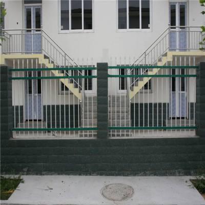汝阳 铁艺栏杆 庭院围墙栏杆 别墅铁艺围墙护栏 外形大气 使用寿命长