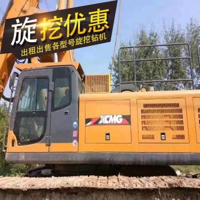 浙江衢州出租徐工280旋挖钻机 280型号旋挖钻机作业钻进时间短 2018年旋挖设备