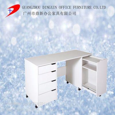 电脑桌台式书桌书架组合家用办公桌简约现代简易小桌子经济型