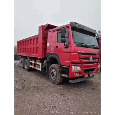 出口用375马力豪沃25吨自卸车