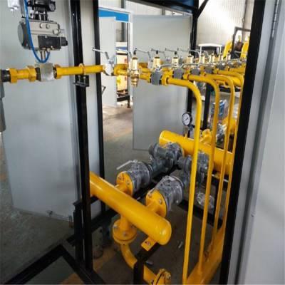双路带计量天然气调压柜是如何开启的?昂星