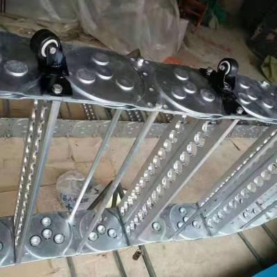 厂家直销 电缆拖链规格 坦克链选型 机床拖链型号