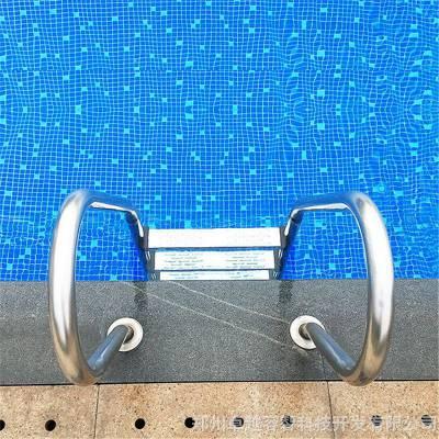 河南游泳池扶梯,游泳池扶手,304不锈钢泳池扶梯