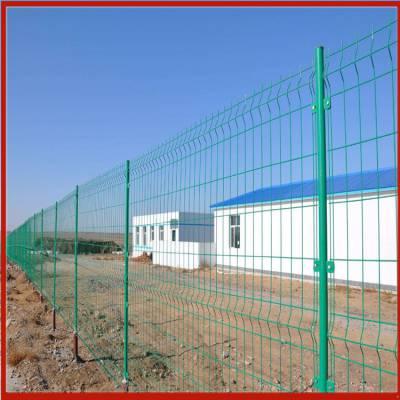 顺义三角折弯护栏网 车用铁丝网兴来 常州锌钢护栏网