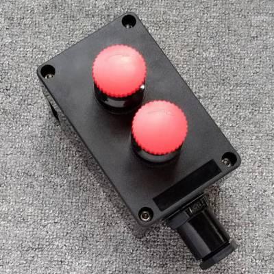 10A220V急停蘑菇头防爆控制按钮盒BZA80580-A2