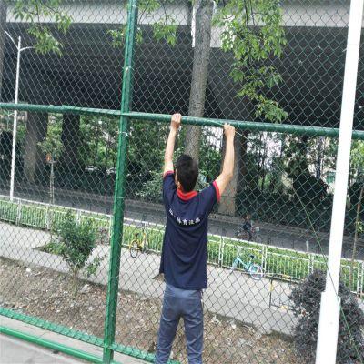 体育场勾花围栏 勾花网专业生产 球场防护网