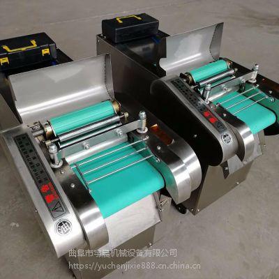豆制品切片切块机 豆腐皮海带切块机 加工用粉皮切条机切段机宇晨机械