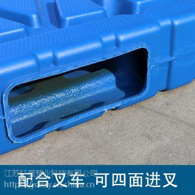 塑料托盘叉车卡板货物栈板防潮板仓库垫板垫仓板一体吹塑加厚