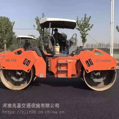 郑州高新区公路彩色沥青路面