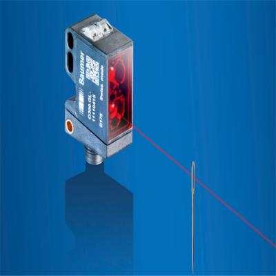 堡盟Baumer瑞士 圆柱形超声波测距 微型传感器测距 监视玻璃透明材料