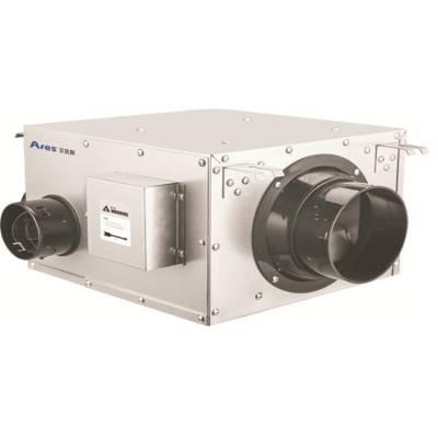 艾锐斯厂家可定制新风系统净化静音多孔自平衡除甲醛管道多向流排风机