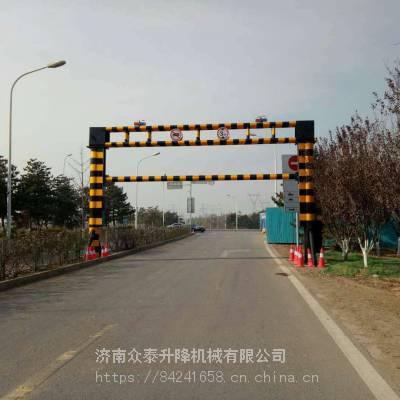 沧州智能限高杆厂家定做 高速路口远程遥控升降限高架