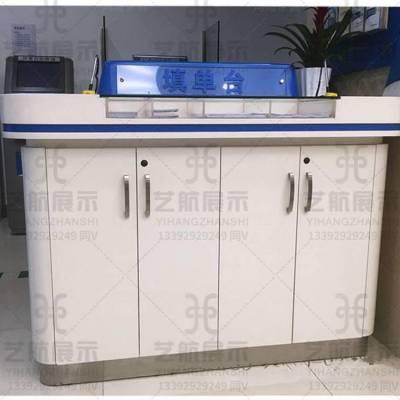 银行展柜厂家定做 汉中西乡农村商业银行银行展柜
