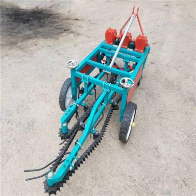 农用起花生机 手扶链条花生收获机视频 快捷收花生机器