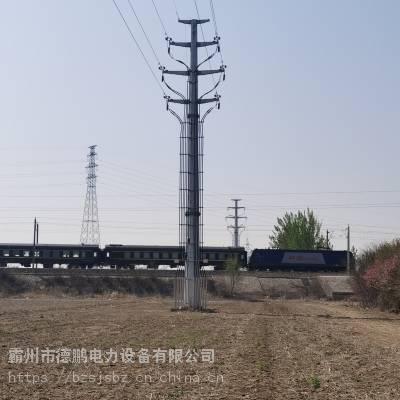 批发供应 红河 10kv-110kv 钢管杆 钢管塔