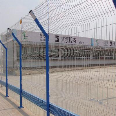 三角折弯防护网 公园防护网 厂区围栏网