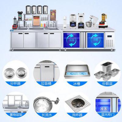 专业奶茶设备厂家_河南隆恒加盟奶茶店需多少钱_河南隆恒贸易经久耐用