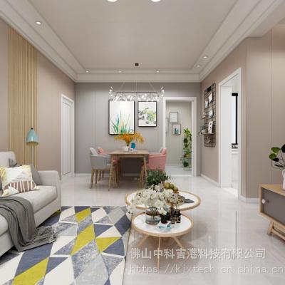 广东集成墙面厂家哪个好 科吉星环保集成墙面300工装板多少钱一平方米