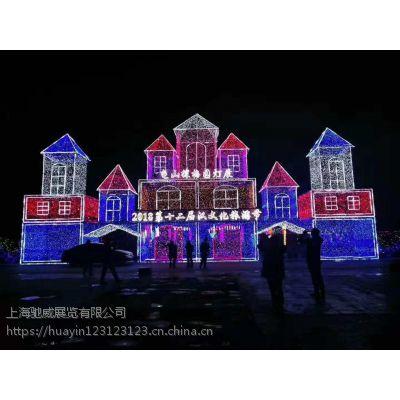 梦幻灯光节暖场出租顶端灯光艺术团队产品租赁活动服务