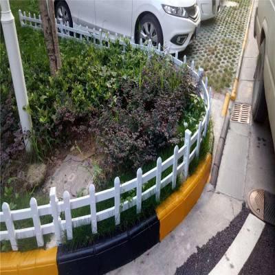 墨绿色草坪护栏 草坪锌钢护栏 隔离围墙网