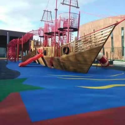 户外木制组合木质爬网 幼儿园轮胎攀爬架 攀岩墙 碳烧积木 涂鸦储物柜