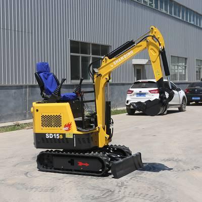 挖沟、施工好帮手小钩机 1吨左右之农用挖掘机