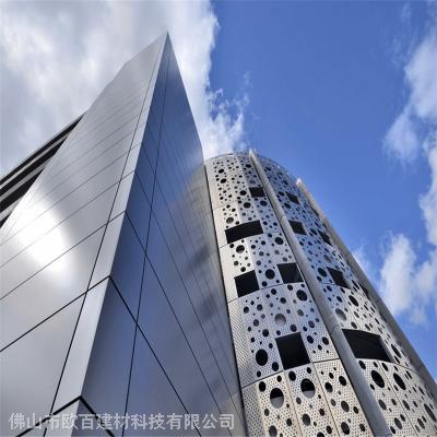 铝单板幕墙装饰价格_幕墙氟碳铝单板厂家
