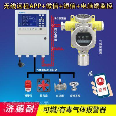 化工厂罐区柴油报警器,无线监控气体探测仪