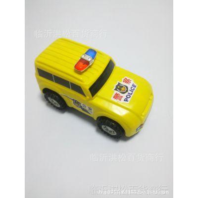 批发销售儿童玩具 创意回力四驱警车玩具儿童礼品赠品 地摊热卖