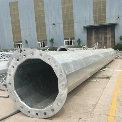 河北省35kv直线钢杆型号 15米66kv转角电力塔基础打桩 霸州市顺通电力设备厂
