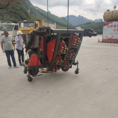 东恒机械SYZM-6隧道扇形凿毛机 隧道弧面拉毛机