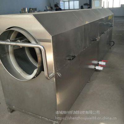 诸城神州机械厂家 滚筒式清洗机 休闲食品洗袋机
