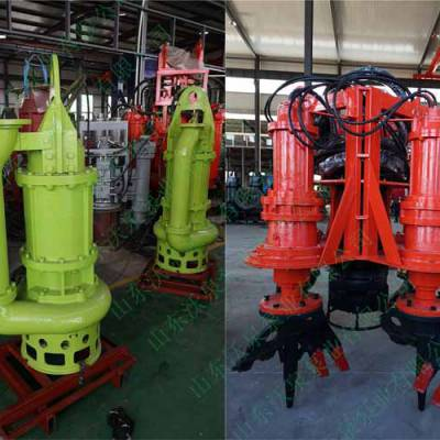 高浓度挖掘机抽沙泵 液压抽泥泵 挖机清淤泵排污泵