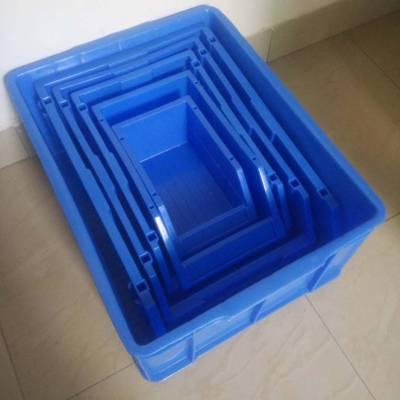 广州乔丰 塑料周转箱 价格 塑料周转箩 塑料方形胶箱