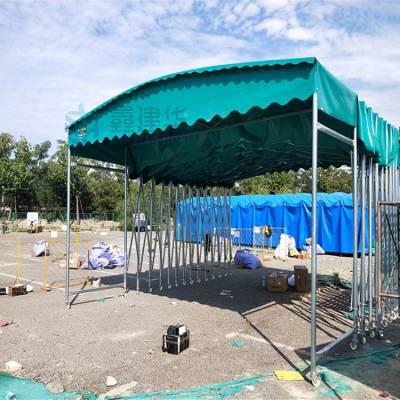 泉州石狮早餐推拉篷伸缩雨棚篮球场品质有保证