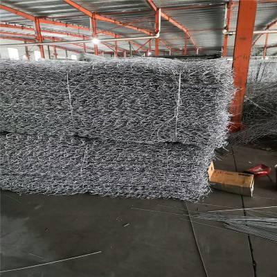 施工 镀锌低碳钢丝格宾网 石笼箱使用