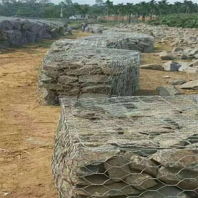 施工 铅丝水道用网 石笼箱特点