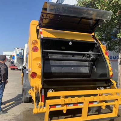 后装压缩式垃圾车凯马压缩式垃圾运输车价格