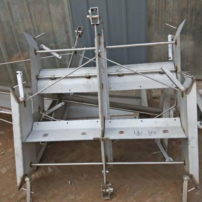 养殖自动刮粪机 平板粪便一体清洁设备 牛场清粪机