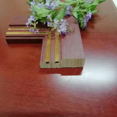广东实木线条生产厂..广东实木镶铝合金装饰线...广东实木背景墙框线