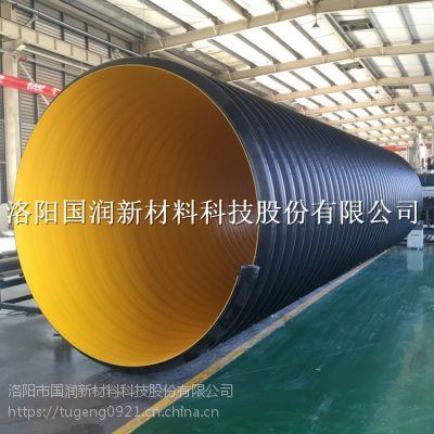 大型工程钢带波纹管 排污管道