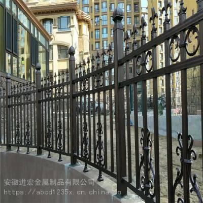 锌钢护栏网 围墙栏杆护栏围栏 厂房社区户外栅栏 校园庭院室外防护栏现货销售