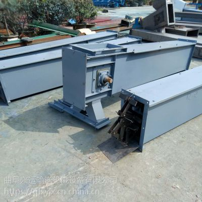 埋刮板输送机 大提升量水泥粉刮板机